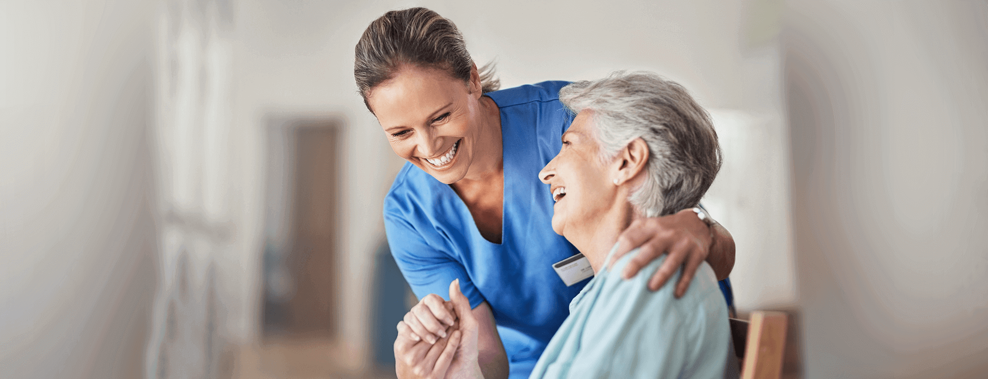 Caregiver and Elderly Woman - Beaverton, OR - Serenity Home Care